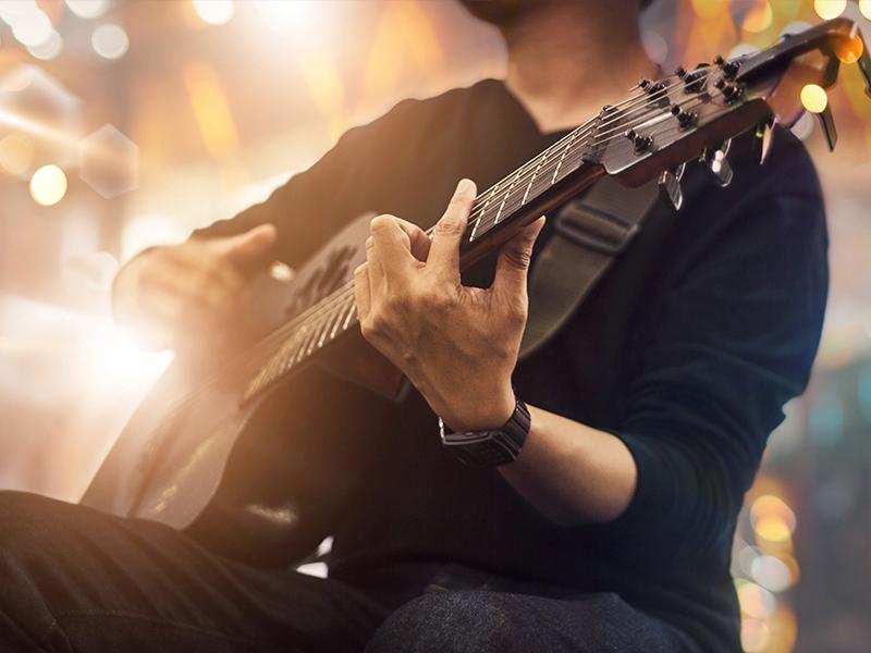 Kim Larsen kopi / Jam akustisk guitar